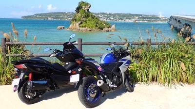 沖縄で『旅先バイクレンタル』3月18日開始~新提案!リゾートホテル発着のレンタルバイクサービス~
