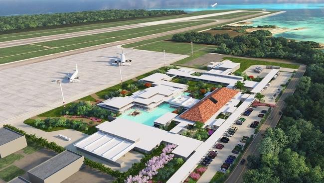 みやこ下地島空港ターミナル 全景