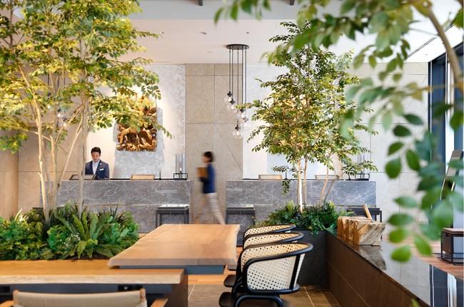 都シティ大阪本町 フロントロビー(2020年6月新規オープン)