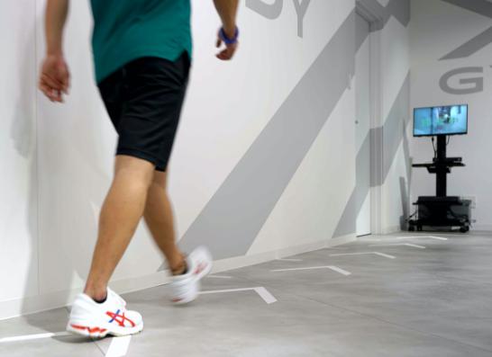 歩行姿勢測定