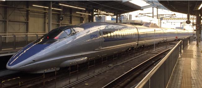 幅広い世代に人気のある500系新幹線