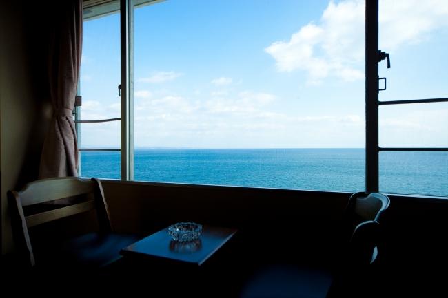 『別府ホテル清風』 目の前に海が広がる別府湾