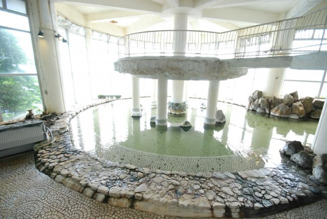 関東随一の広さを誇る大浴場