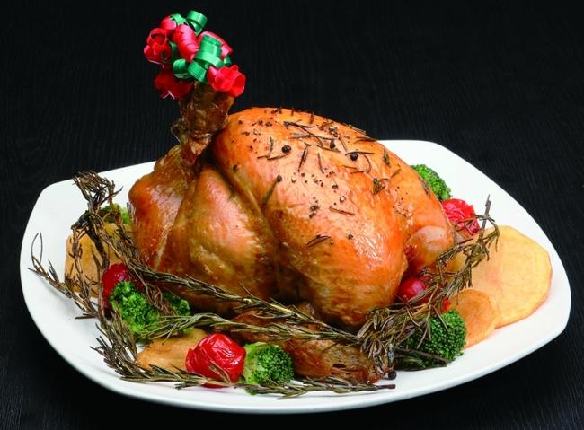 クリスマスの定番 「ローストチキン」