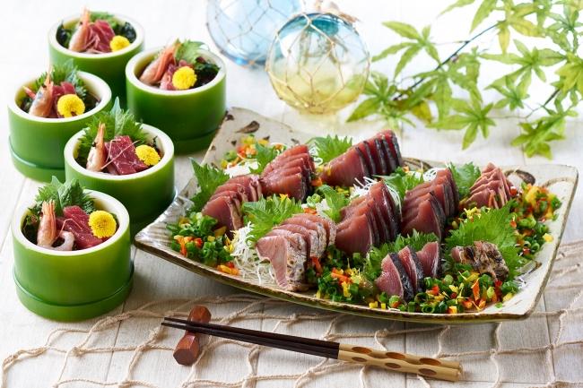 三陸海の幸と夏野菜フェアのイメージ