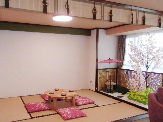 2018年11月オープンのコンセプトルーム「SAKURA(桜)ルーム」