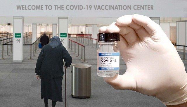 ワクチン接種会場