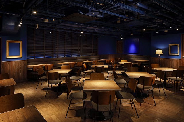 「dining lounge concept B」店内