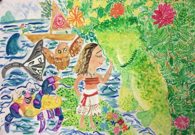 最優秀賞「モアナと伝説の海」