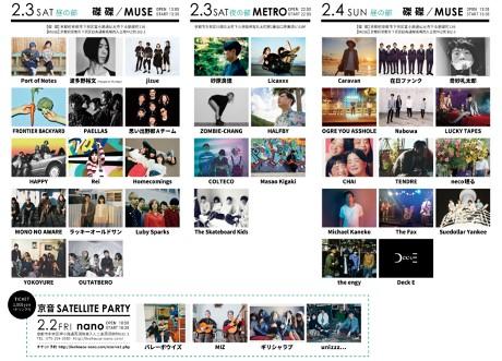 2018年開催「京音-KYOTO- サーキットライブ 2018」出演アーティスト