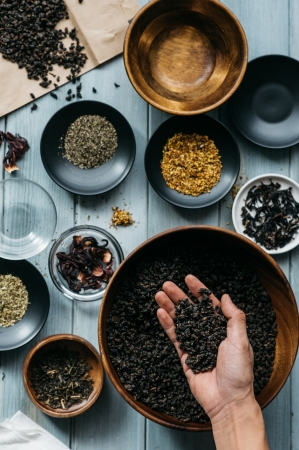 ティーマスターが厳選する高品質な茶葉