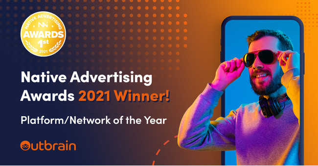 Outbrainが「Native Advertising Platform/Network of the Year」金賞を受賞