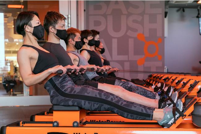 全身の80%以上の筋肉を使うローワー運動