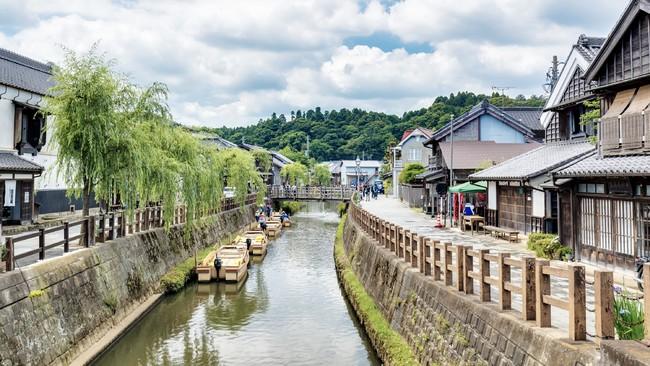 江戸情緒あふれる水郷の町。タイムスリップしたような時間を流れを感じていただけます。