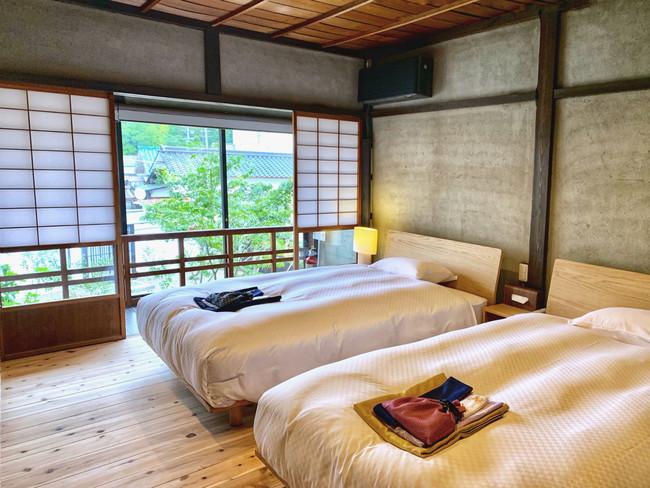 一棟貸しからペットとの宿泊OKの客室まで、旅の用途に合わせた滞在が可能。客室数が小規模であることから密を回避できるホテルでの過ごし方が出来る