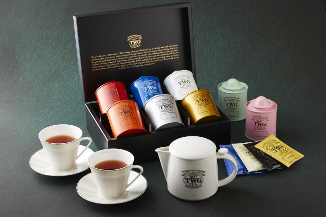 シンガポール発世界屈指のラグジュアリーティーブランド「TWG」の紅茶が愉しめる