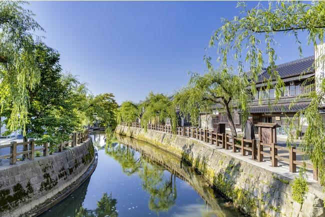 東京からもアクセス◎。重要伝統的建造物群保存地区に指定されている商家町 佐原。