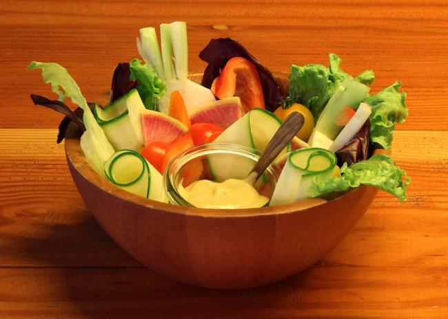 農園野菜のバーニャカウダ(価格:1,000円)