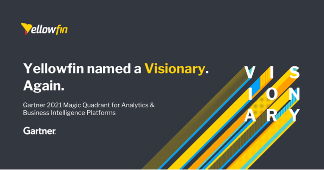 Yellowfin - Gartner MQ 21 for BI_Visionary
