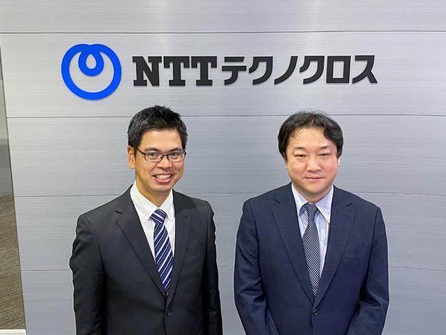NTTテクノクロス 山崎氏・木村氏