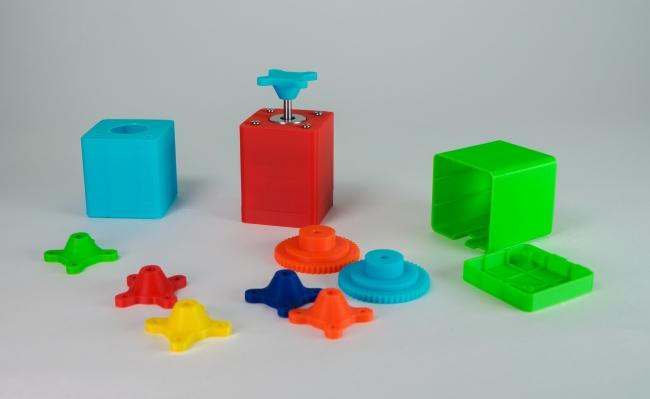 3Dプリンタで出力可能なパーツデータも公開予定
