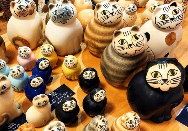 リサ・ラーソンの陶器 ※写真はイメージです。