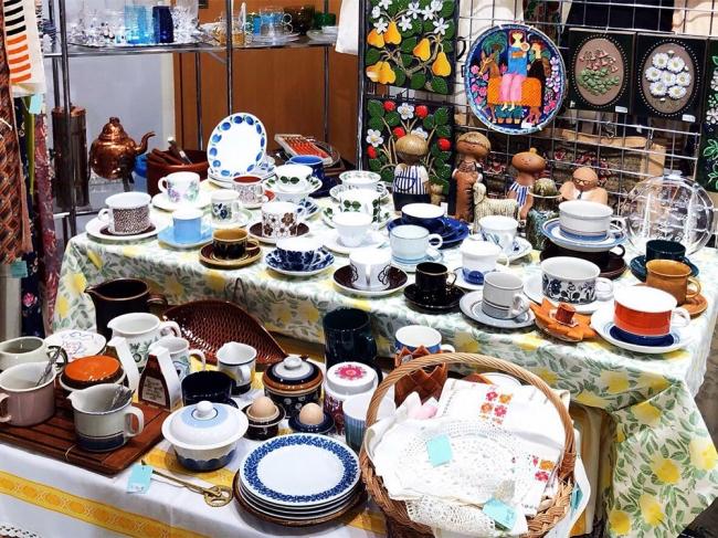 北欧ヴィンテージ陶器 ※写真はイメージです。