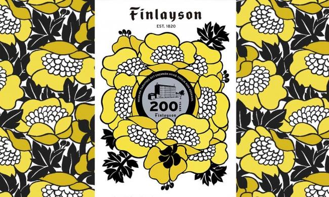 フィンレイソン創立200周年記念デザイン Finlayson(R)︎ (C)Finlayson Oy