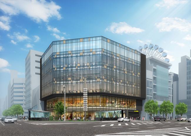 日本生命栄ビルの外観イメージ