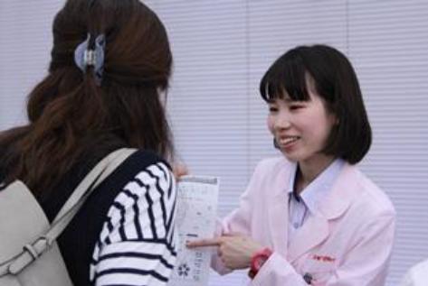 スギ薬局管理栄養士による体組成測定