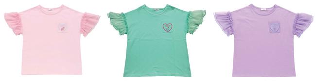 チュールTシャツ 2,900円