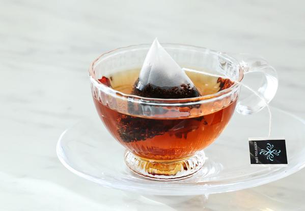 茶葉が開きやすいサシェ