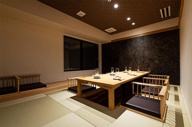 2階「小滝野」の個室