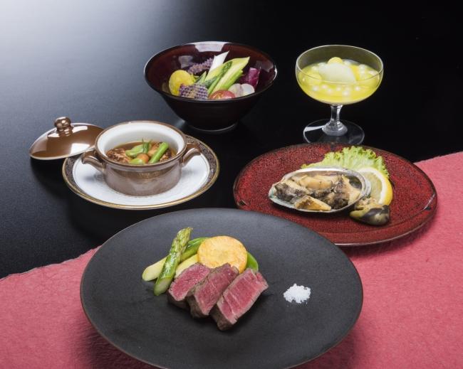 日本料理なにわ 鉄板焼「サンクスランチ」