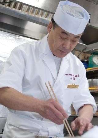 「日本料理なにわ 懐石」料理長 小暮 茂夫