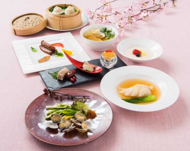 中国料理 皇家龍鳳「桃華(とうか)~ふかひれと春の山菜~」