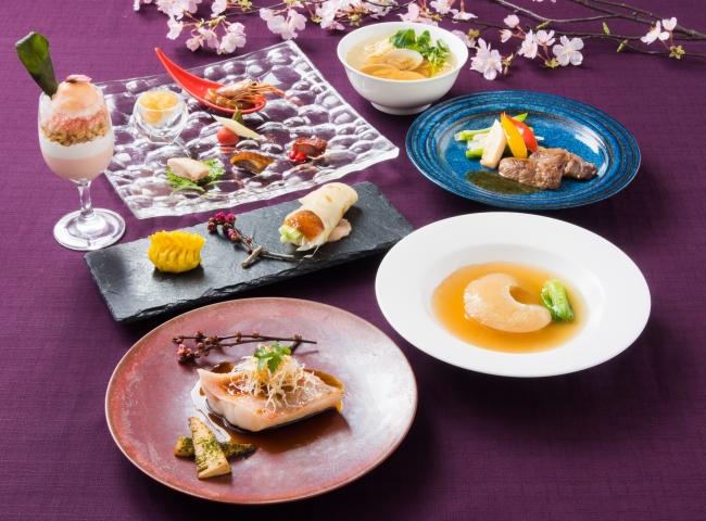中国料理 皇家龍鳳「花宴~ふかひれ姿煮と真鯛を味わう」