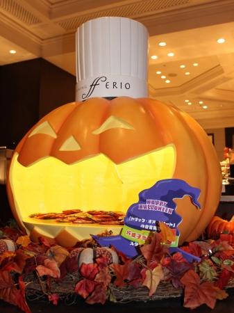 「ダイニング フェリオ」には巨大かぼちゃが登場!