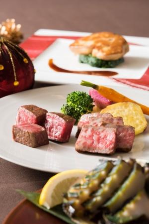 鉄板焼 みや美 「クリスマスディナー~国産黒鮑を味わう」