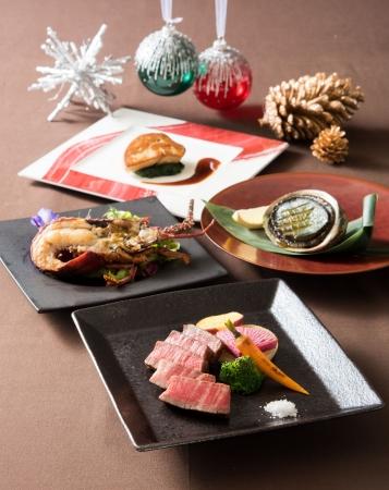 鉄板焼 みや美 「クリスマスプレミアムディナー~シャトーブリアンと海鮮を堪能する」