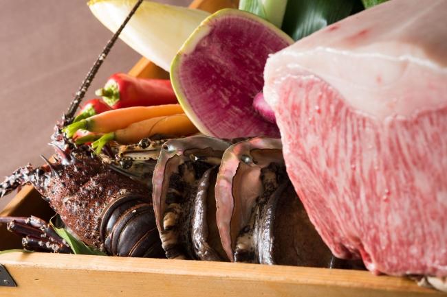 鉄板焼 みや美 「クリスマスデラックスディナー~特上黒毛和牛と海鮮を愉しむ」