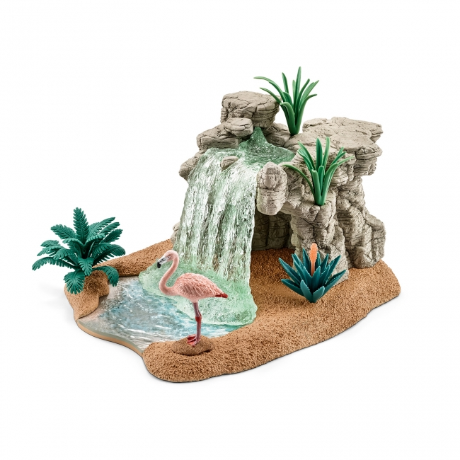 特典の「サバンナの滝」