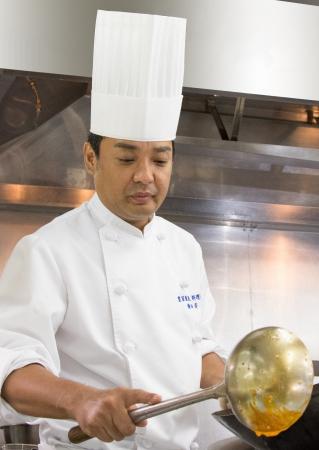 料理長 横田 済(よこた わたる)