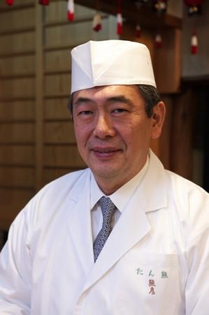 「京料理 たん熊北店」代表取締役 栗栖 正博