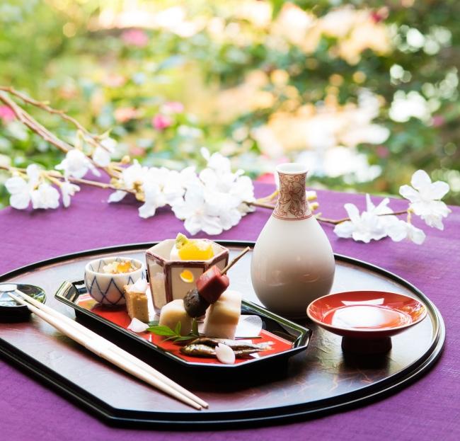 獺祭の酒粕や春の食材を使用した特別会席をご用意