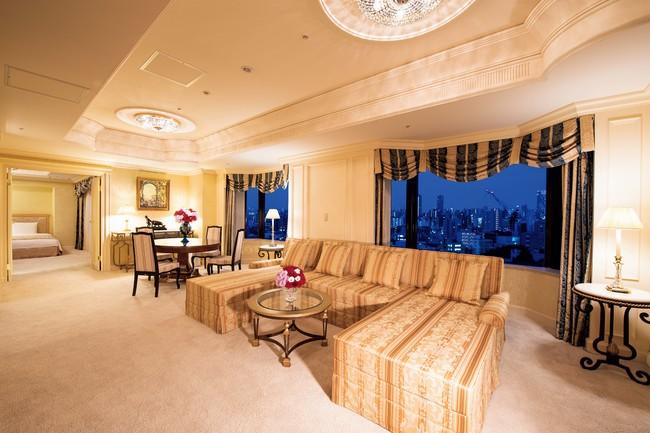 館内で1室しかない最上級スイートルーム「クラウンスイート」