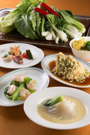 中国料理 皇家龍鳳「ふかひれと中国野菜を味わうランチ」