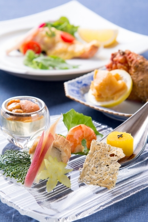 日本料理なにわ 懐石「夏の旬を味わう涼風会席」