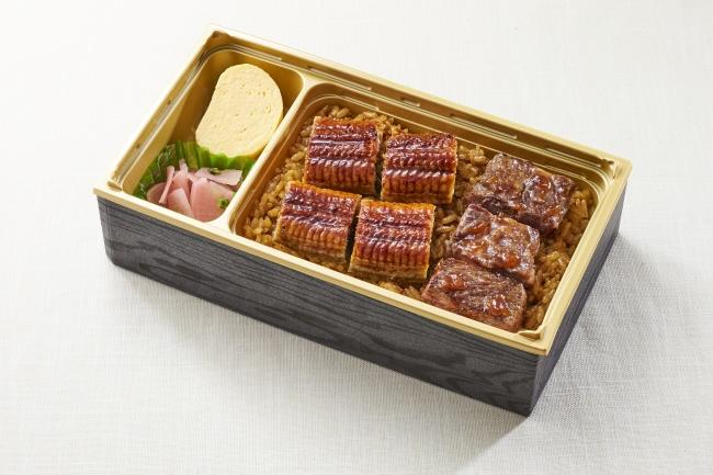 うなぎ&牛ステーキ重 早割価格 798円(+税)  通常価格 998円(+税)