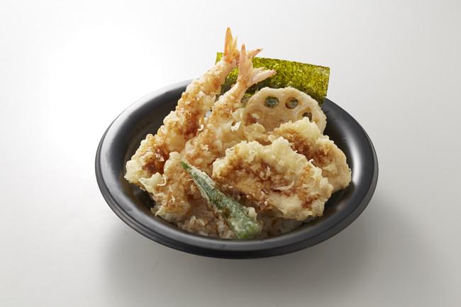 鶏海老天丼 698円(+税) → 499円(+税)